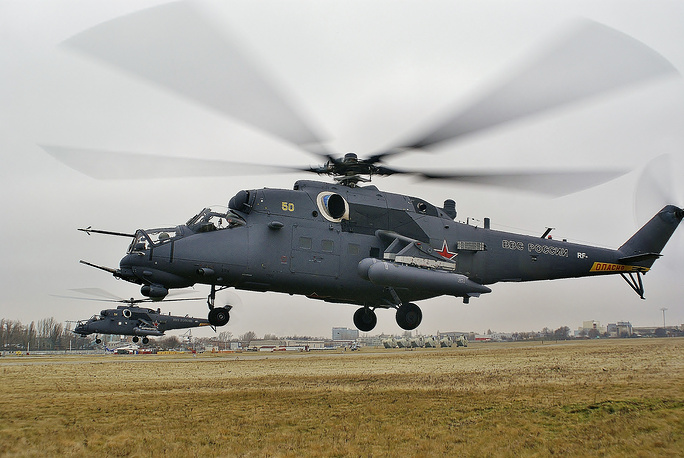 Mil Mi-35M (Hind) attack helicopter