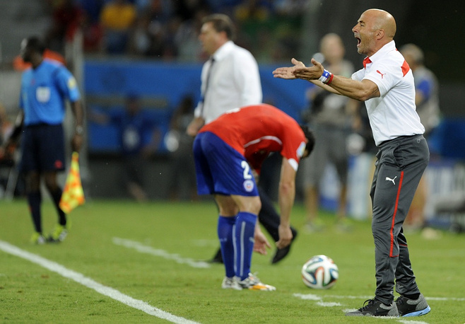 Chile national team coach Jorge Sampaoli