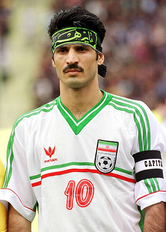 Iran's Ali Daei holds the record of most goals scored (35) in overall World Cup qualifying matches