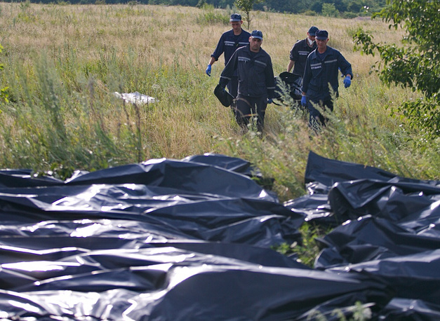 272 bodies have been retrieved at the crash site so far
