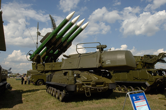 Buk air defense system (archive)