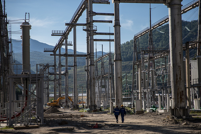 Russia's largest Sayano-Shushenskaya hydroelectric power plant five years after the accident
