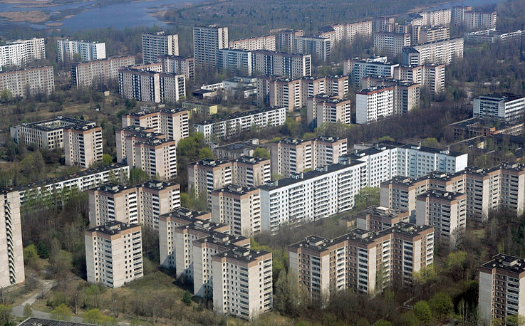 All citizens of the town of Pripyat in the north of Ukraine were evacuated on April 27, 1986 due to the Chernobyl NPP disaster