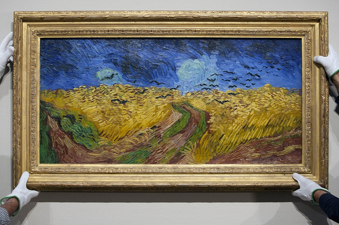 The third biggest heist happened at Van Gogh Museum in Amsterdam in 1991. The stolen paintings had an estimated value of $200 mln. The artworks were found soon after the heist, though three of the paintings were severely damaged, including the 'Wheatfield with Crows' (photo)