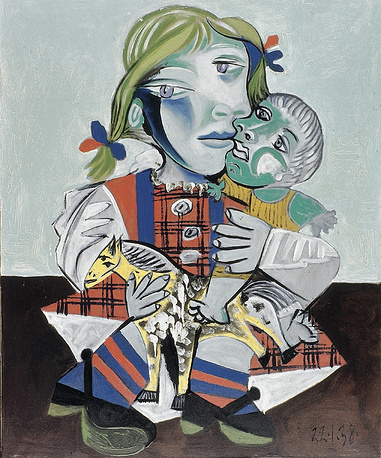 Three of Pablo Picasso's works were stolen in 2007 from the apartment of his granddaughter Diana Widmaier Picasso. 'Maya and the Doll' (photo), 'Portrait of Jacqueline' and 'Marie-Therese at age 21', with their overall value estimated at $66 mln.) were found later the same year