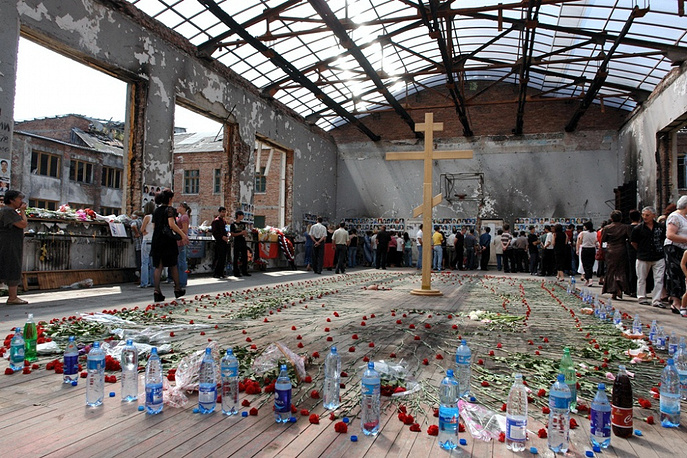 Mourning events on the second anniversary of the tragedy, September 1, 2006