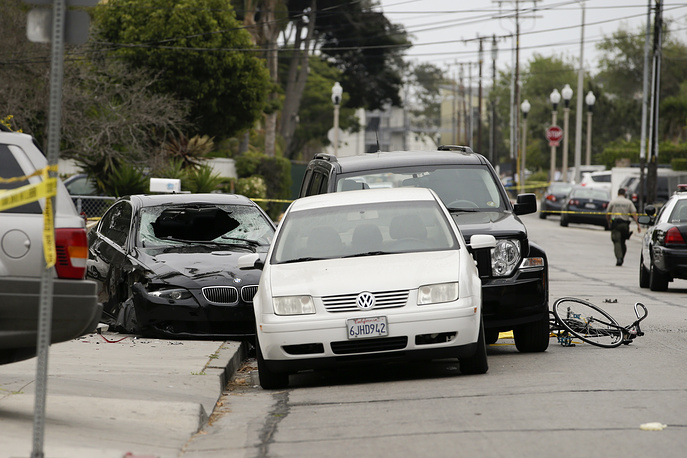 A killing spree in Isla Vista, California was perpetrated on May 23, 2014 near the campus of University of California, Santa Barbara. 22-year-old Elliot Rodger killed six people and injured thirteen others before committing suicide