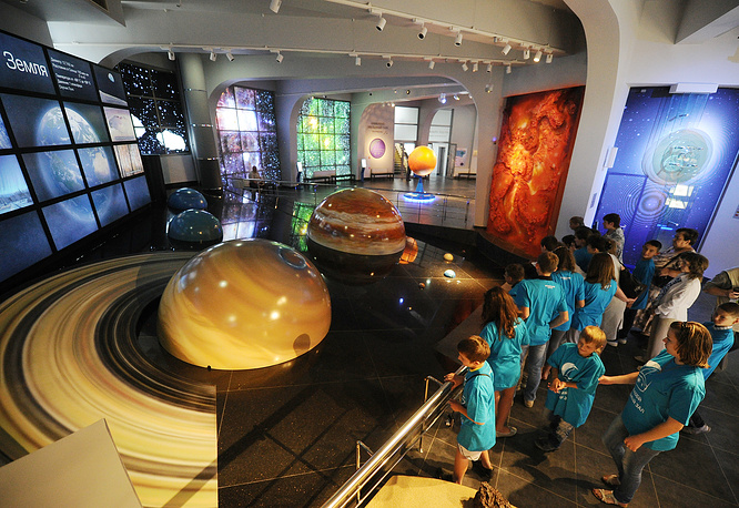Moscow Planetarium attracts over 1.5 million people annually.