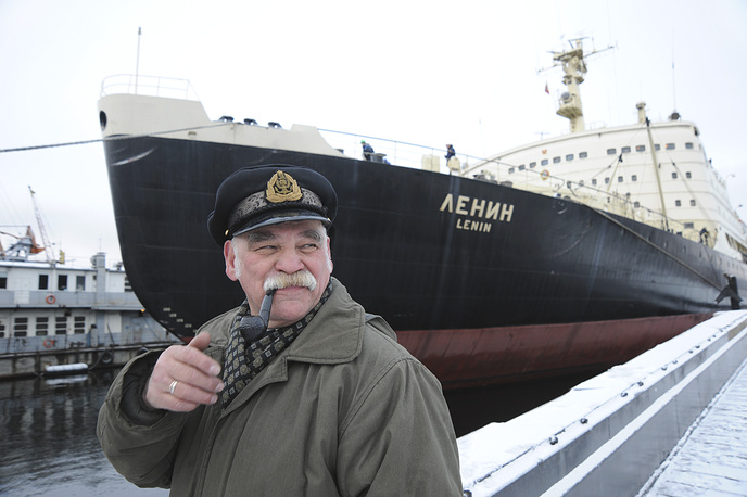 It entered operation in 1959 and was used to clear sea routes for cargo ships along Russia's northern coast.  In 1989 it was decommissioned and converted to a museum ship . Photo: Lenin world's first nuclear powered icebreaker, 2009