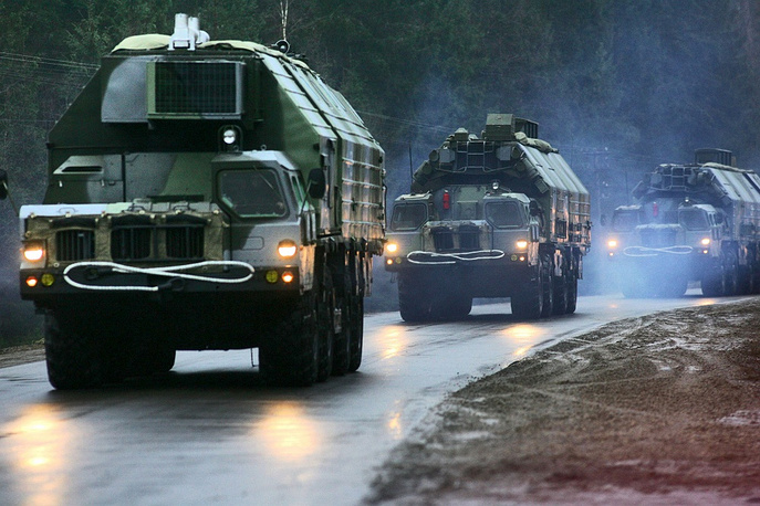 S-300 systems (NATO reporting name SA-10 Grumble) are designed to defend major facilities from air attacks. They are considered to be some of the world's most capable anti-aircraft missile systems