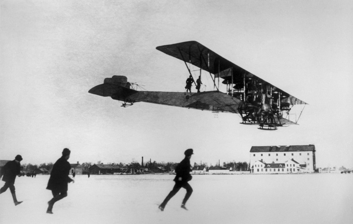Sikorsky Ilya Muromets (S-22 and S-23) is a class of Russian pre-World War I large commercial airliners and heavy military bombers used during World War I by the Russian Empire. Aircraft series was named after a hero from Russian mythology
