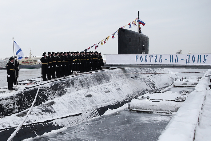 A total of six Varshavyanka class submarines will be built for the Black Sea Fleet