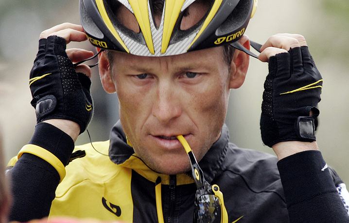 In 2012 the Union Cycliste Internationale (UCI) disqualified famous cyclist Lance Armstrong from Tour de France races he won between 1999 and 2005 for doping offenses, banning Armstrong from competitive cycling for life
