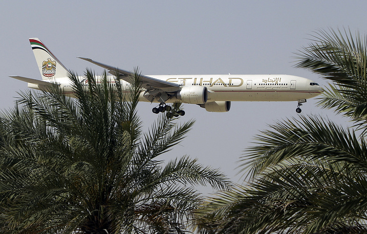 Etihad Airways comes tenth