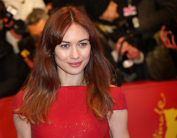 Olga Kurylenko in Berlinale Palace