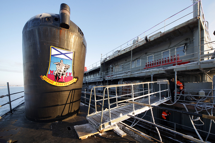 The submarine successfully passed all the sea trials under the combat training program and test-fired the Bulava sub-launched intercontinental ballistic missiles