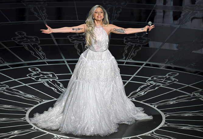 3. American singer Lady Gaga. 2.6% of the votes