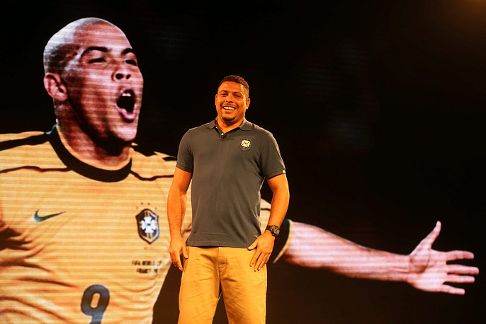 Two-time world champion Brazilian Ronaldo will be assistanting FIFA Secretary General