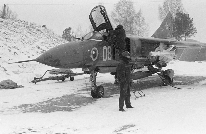 MiG-23, a variable-geometry fighter aircraft, is considered to belong to the Soviet third-generation jet fighter category. Its production started in 1970 and reached large numbers with over 5,000 aircraft built