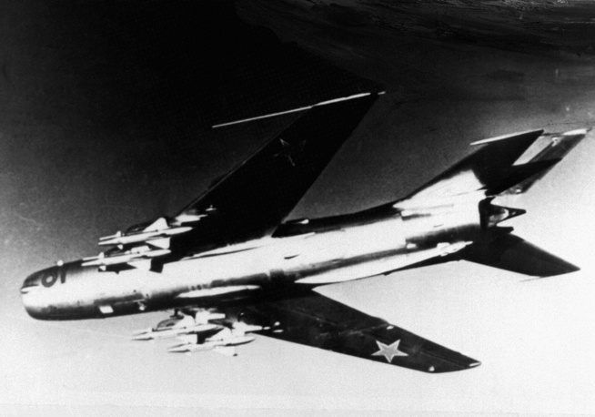 MiG-19, developed in the early 1950s, became MiG's first supersonic fighter