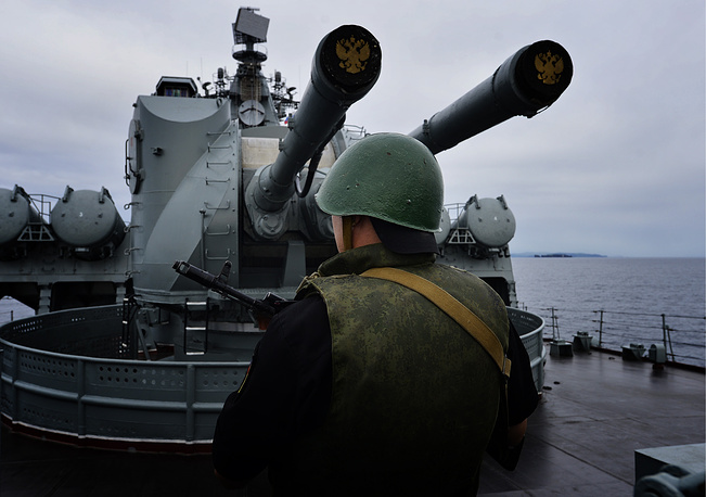 The sailors also conduct live-fire on sea surface, submerged and air targets