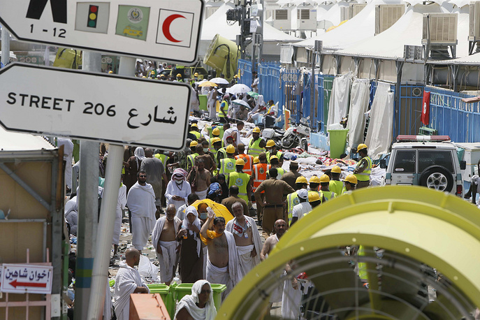 The stampede in the valley of Mina has become the biggest that has ever occurred in Saudi Arabia during the Haj