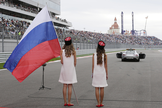 F1 Russian Grand Prix was held on October 11 in Sochi