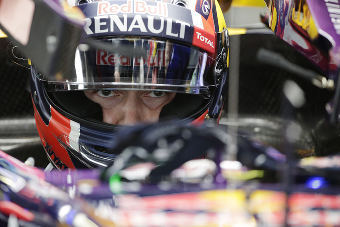 Red Bull driver Daniil Kvyat of Russia