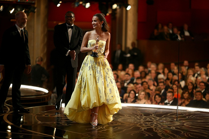 Alicia Vikander, winner of Best Supporting Actress award for 'The Danish Girl'