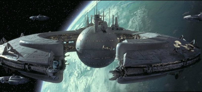 Space Station from 'Star Wars' series