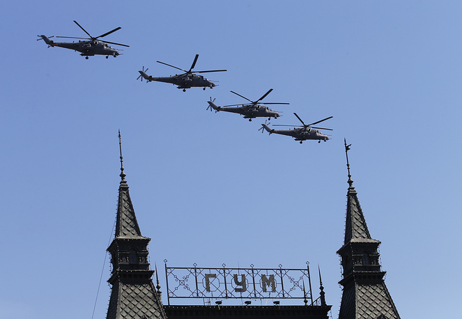 Mi-35 attack helicopters