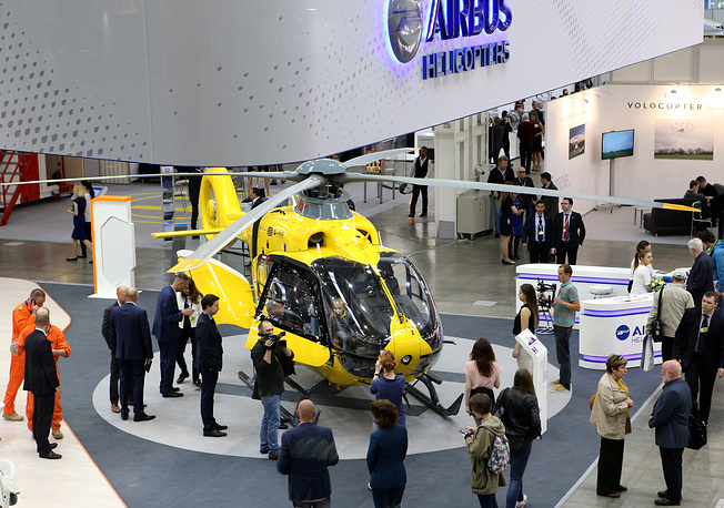H135 of the Airbus Helicopters