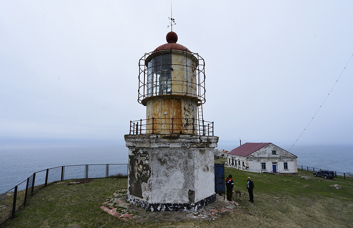 Povorotnyi lighthouse is located on Cape Povorotny, among East Coast of Primorye and South Primorye