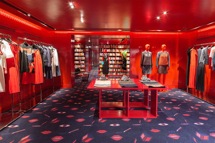 In 2016 Sonia Rykiel Fashion House opened Madison Interior Boutique in New York