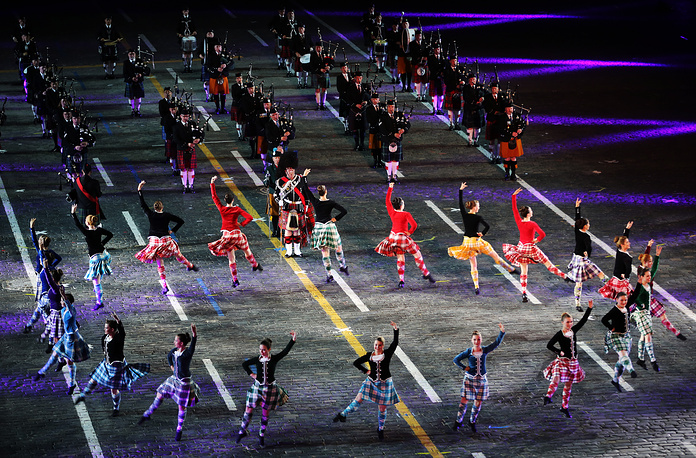 International Scottish Highland Dance Team