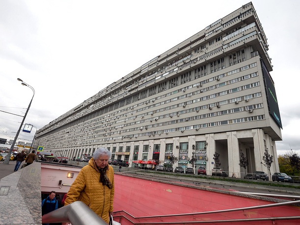 14-storey residential building called Ship House, or Titanic, was designed by architect Vladimir Babad and built in 1981