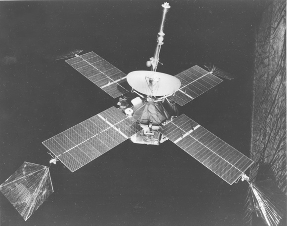 In 1965 Mariner 4 finished a historic 228-day voyage to Mars by capturing the first close-up photographs of another planet
