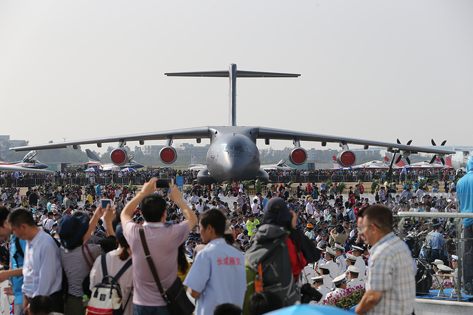 Xian Y-20 heavy military transport aircraft