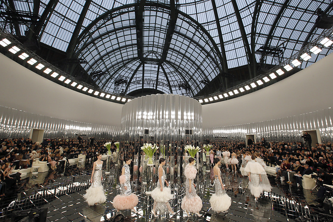 Chanel's Haute Couture Spring-Summer 2017 collection presentation