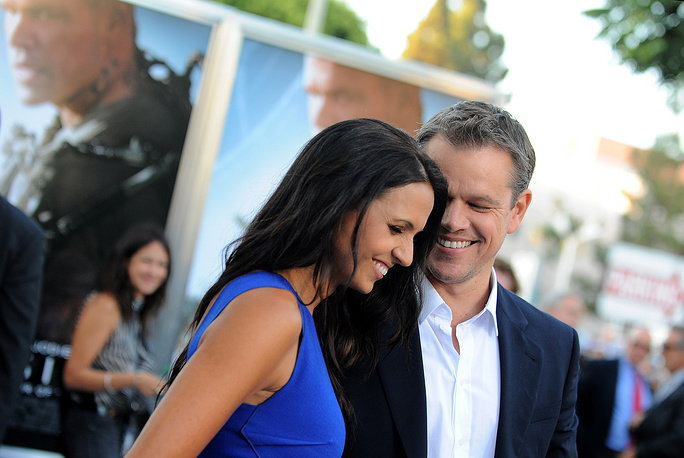 Matt Damon and Luciana Barroso reportedly met in 2003 and got married the following year