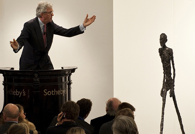 In 2010, The Walking Man bronze sculpture by Alberto Giacometti was sold for $104,3 mln to Lily Safra, the widow of the prominent Lebanese banker Edmond Safra
