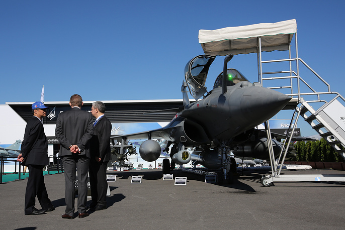 Dassault Rafale multirole fighter aircraft designed by Dassault Aviation
