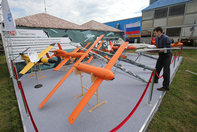 Unmanned aerial vehicles produced by the Eniks design bureau