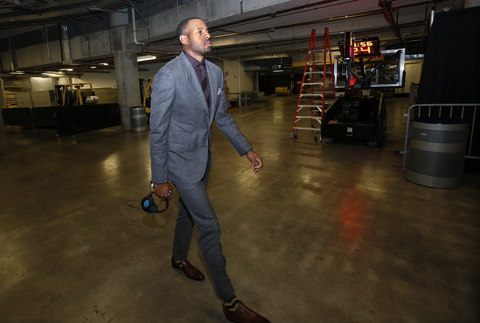 American basketball player for the Golden State Warriors Andre Iguodala