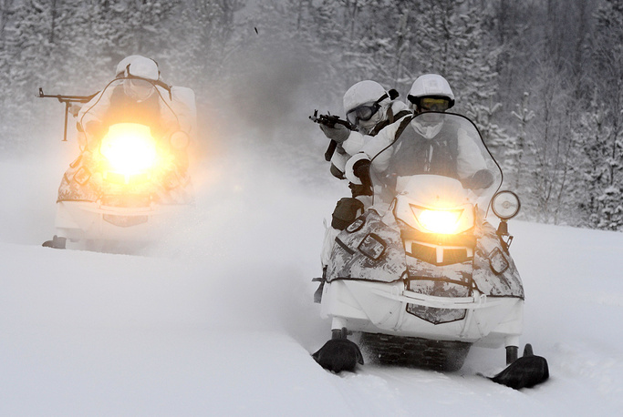 AS-1 snowmobile vehicles