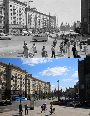 Above: Gorky Street, 1966