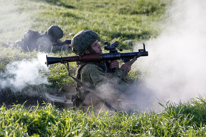 Anti-terror drills at Khmelevka range in Kaliningrad region