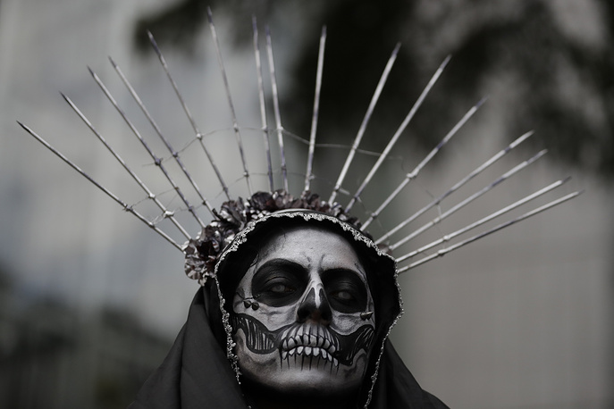 "The Grand Procession of the ""Catrinas"" is part of upcoming Day of the Dead celebrations in Mexico"