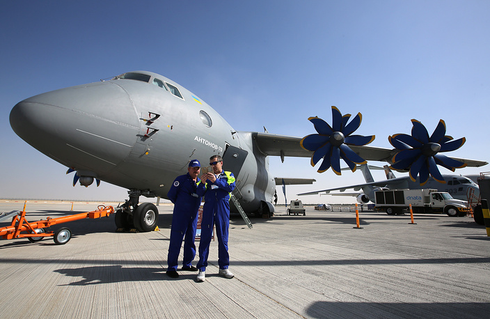Antonov An-70 transport aircraft