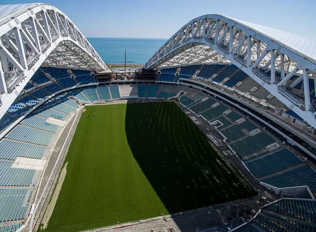 Fisht Stadium in Sochi